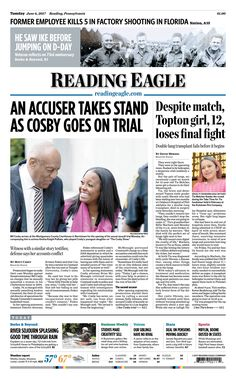 Today's front page. June 6, 2017.