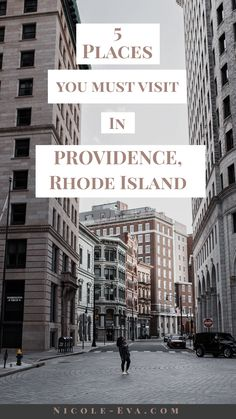 Providence Rhode Island has a lot to offer, you just have to know where to look! Use my guide to plan your next adventure! Tell them Nicole Eva sent you! Providence Rhode Island, Lists To Make, Staycation, New England, Lifestyle Blog, Street View, Explore, Adventure, How To Plan