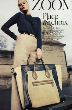 Oversize handbags