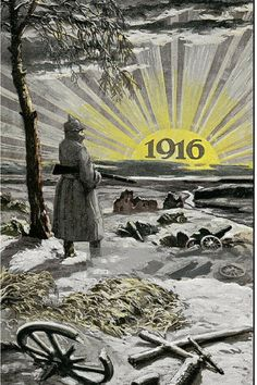 Hope for a better year in #1916 #WW1