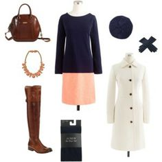 OOTD - 3/13/14  - Color Blocking and Color Contrast.