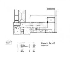 Tuatua House / Julian Guthrie, Floor Plan-1