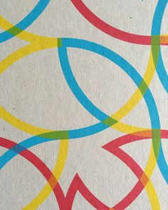 Here's a detail from one of three fantastic editions created exclusively for Look Up by Bonnie Craig, each one featuring an invigorating blend of graphic shapes and primary colours on grey board. Online Print Shop, Screenprinting, Limited Edition Prints, Public Art, Surface Design, Primary Colors, Geometry, Product Launch, Kids Rugs