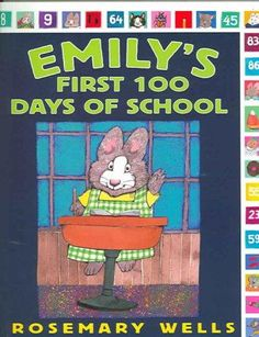 Emily is ready for her first day of school. There's so much to do: learning the alphabet, singing, reading books, dancing, and counting, starting with the very first day. One hundred days feels very f