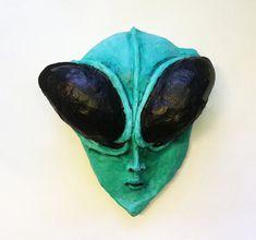 Alien Mask Alien grey Close Encounters Communion by ArtisanMasks