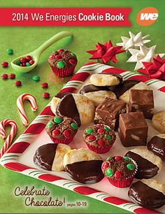 This year's We Energies cookie book, in a new, larger format, features 32 recipes, including recipes from customers. Holiday Cookies, Holiday Treats, Christmas Treats, Holiday Recipes, My Recipes, Cookie Recipes, Cookie Company, Savoury Baking, We Energies