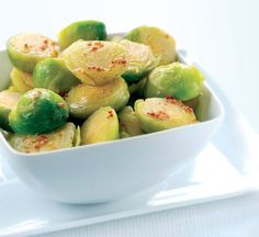 Brussels Sprouts with Honey and Mustard Recipe: Cook Vegetarian Magazine