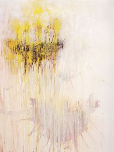 Cy Twombly Coronation of Sesostris, panel 7 of 10, 2000