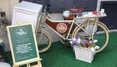 As bicicletas para vender doces estão em alta e essa é uma bicicleta cargueira que pode ser utilizada para venda do seu produto.