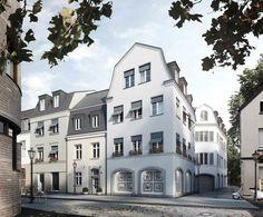"""Bauobjekt """"Peterstraße - Kempen-Altstadt"""" - Neubau von 13 Eigentumswohnungen und einer Gewerbeeinheit in Kempen - Ralf Schmitz - http://ruhrgebiet.neubaukompass.de/Kempen/Bauvorhaben-Peterstrasse-Kempen-Altstadt/"""