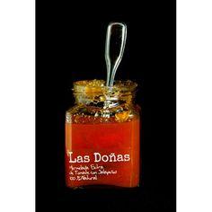 Mermelada de tomate con jalapeños Las Doñas 250 gr.