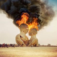 Burning Man, 2014.