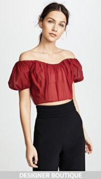 New Giambattista Valli OTS Crop Top online. Find great deals on Zimmermann Clothing from top store. Sku kcak16789jspm26050