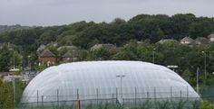 Tennis Court Air Domes in Warwickshire #Sports #Court #Air...