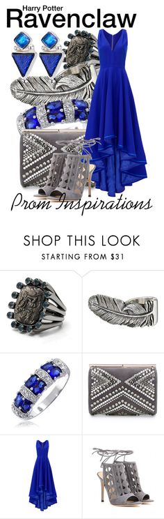 """""""Harry Potter - Prom Inspirations"""" by wearwhatyouwatch ❤ liked on Polyvore featuring Stephen Dweck, King Baby Studio, Bling Jewelry, Jimmy Choo, Allison Parris, Gianvito Rossi, Prom, harrypotter, wearwhatyouwatch and film"""