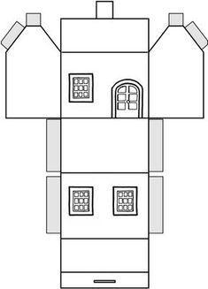 Album Archive - Recorte e monte Cardboard Paper, Paper Toys, Diy Paper, Paper Crafts, Paper Art, Box Houses, Putz Houses, Paper Houses, Christmas Paper