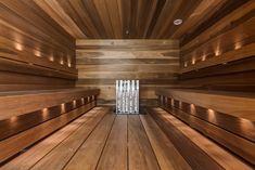 Moderni sauna, Etuovi.com Asunnot, 5629ec84e4b09002ed150f4e - Etuovi.com Sisustus Saunas, Blinds, Hardwood Floors, Home Decor, Bathrooms, Pools, Wood, Trendy Tree, Steam Room