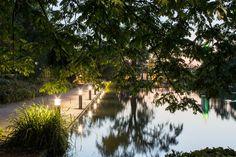 Gruga Parc, Essen (Germany)  Grugapark, Essen (Deutschland)  #luminaire #light #Beleuchtung #leuchte
