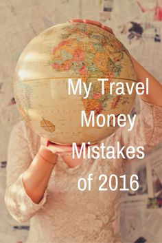 I hate wasting money. But it happens. Ignoring some minor indulgence, here are the ways I could have spent my travel dollar better in 2016. Ways I could have saved money while traveling. http://solotravelerblog.com/my-travel-money-mistakes-of-2016/ save, money, travel, budgettravel, budget