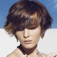 short summer hairstyle