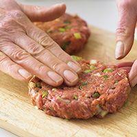 How to make burgers   BBC Good Food
