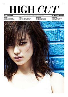 High Cut Magzine Vol.98 March-April 2013 Cover: Han Hyo Joo