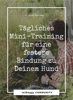 Daily mini-training for a firmer bond - Hunde Dog Training Classes, Training Your Dog, Dog Corner, Dog Games, Happy Dogs, Dog Life, Best Dogs, Cute Dogs, Dogs And Puppies