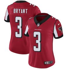 Nike Falcons  3 Matt Bryant Red Team Color Women s Stitched NFL Vapor  Untouchable Limited Jersey c4485ee67c