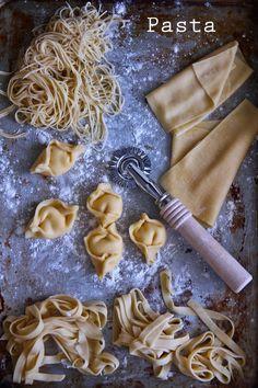 Two-Ingredient Wonders: Make Fresh Pasta by Hand — Old School