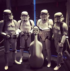Mike from our cello section had a hard time finding his case tonight at #StarWars - The Music.  Tickets are still available for the November 6th show!