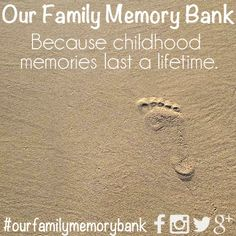 Each day of our lives we make deposits in the memory banks of our children. – Charles R. Swindol. Today I am sharing a project close to my heart - adding to my family's memory bank in simple ways throughout 2014. I hope you'll join us :)