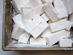 Homemade Vanilla Marshmallow recipe from the book Baked | This is a really, really great recipe!