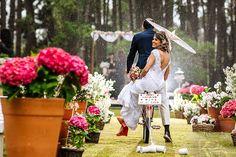 O casamento no campo de Teo e Dágila