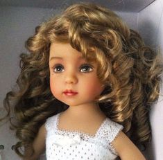 "DIANNA EFFNER LITTLE DARLING 13"" VINYL STUDIO DOLL NELLY VALENTINO GREEN EYES! #Dolls"