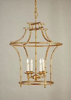 Chinoiserie Chic: Pagoda Lighting
