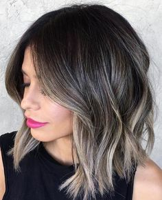 30 Ash Blonde Hair Color Ideas That You'll Want To Try Out Right Away Ashy Hair, Ombré Hair, Brunette Hair, Hair Dye, Yellow Hair Color, Blonde Color, Hair Colors, Ash Blonde Highlights On Dark Hair, Brunette Color