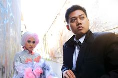 Oky and Winda's Prewed @Jalan Gula