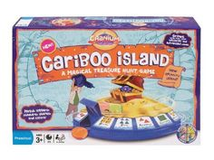 Game Review: Cariboo Island is great for targeting phonemes in therapy sessions with ages 3-12 years old.
