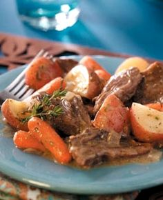 Dijon slow cooker pot roast. So delish! Loved, loved it. I used liquid after cooked and added cornstarch to make a gravy.