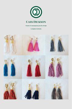 The BEST tassel earrings!