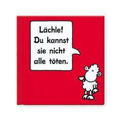 "Geschenkbuch ""Lächle"" von sheepworld http://shop.sheepworld.de/shop/nach-Produktwelt/Buecher-Kalender/Geschenkbuch-LAeCHLE.html"