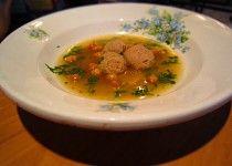 Velejemné knedlíčky do polévky Thai Red Curry, Ham, Beef, Ethnic Recipes, Desserts, Food, Meat, Tailgate Desserts, Deserts