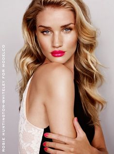 runwayandbeauty: Rosie Huntington-Whiteley for ModelCo Spring 2014 Campaign