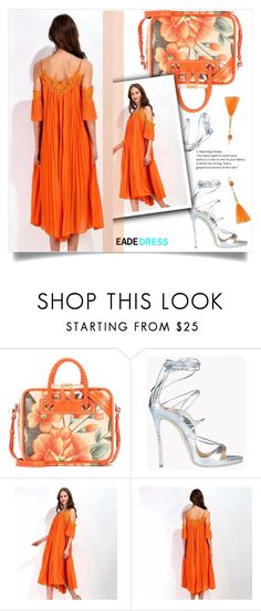 """Eade Dress"" by amra-mak ❤ liked on Polyvore featuring Balenciaga, Dsquared2, Robert Rose and eadedress"