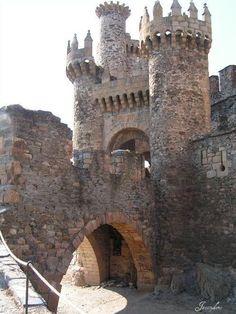 Castillo dei Templaroi,Ponferrada, Castilla e Leon,España