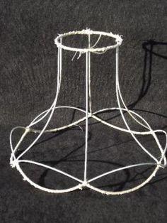 Lampshade frames bulk lamp shade rectangular lamp shade frames use old lamp shade frames to make bed canopies greentooth Images