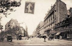 Paris Xe - Rue Lafayette et Faubourg Saint-Martin (Vers 1900)