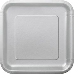 Square Sliver Dessert Plates, 16ct Size: 7-Inch Color: Silver Model: 33440 (Home & Kitchen) $4.00 Package of 16 Silver Square Dessert Plates Silver Paper Plates measure 6.875 across Perfect for serving desserts and party food at a birthday party, New Year's Eve party, bridal Disposable tableware makes after-party cleanup easy Search for other silver party supplies and party decorations from Unique
