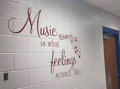 This custom expression would be a fabULous addition to any music classroom or studio. #uppercaseliving #decor8life #music #classroom