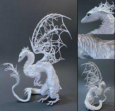 White Lattice Dragon